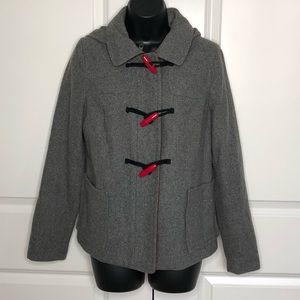 Old Navy | Toggle Button Coat w/ Hood